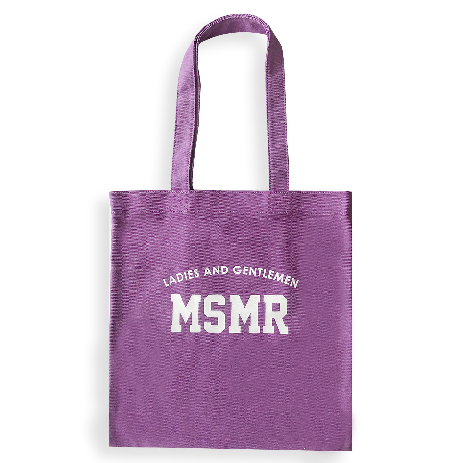 MSMR H ECO BAG Purple