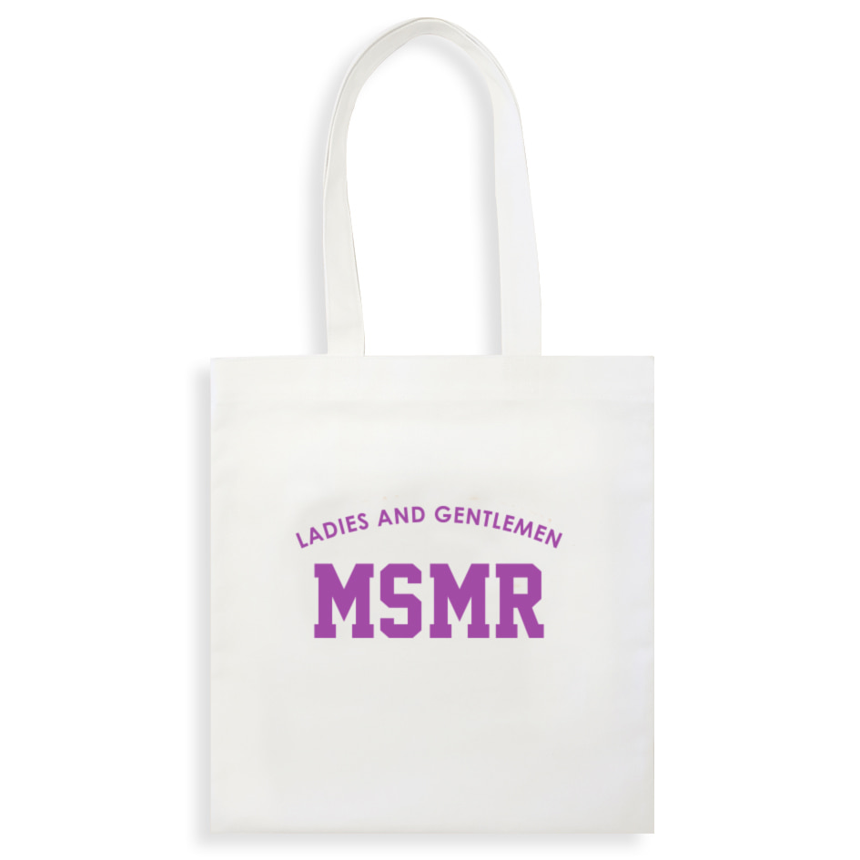 MSMR H ECO BAG White