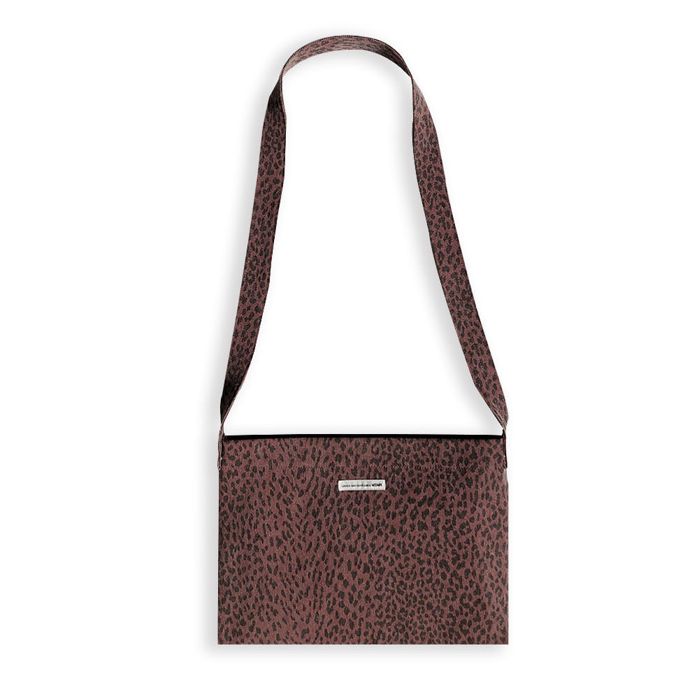 Leopard Cross Bag Red