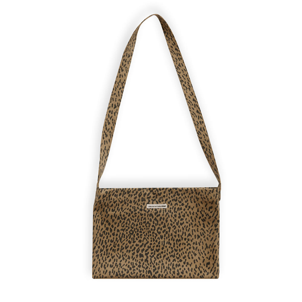 Leopard Cross Bag Brown
