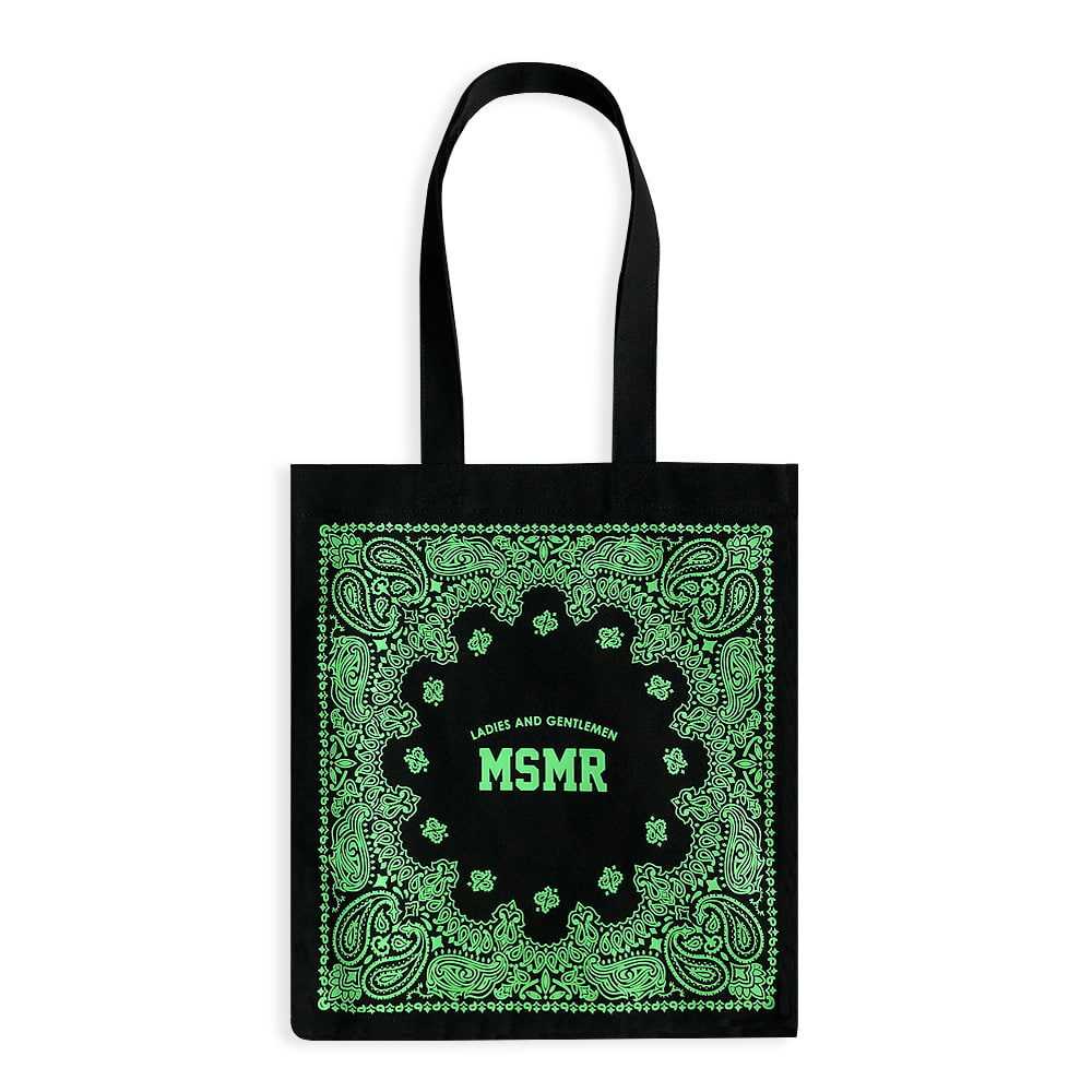 MSMR Paisely Bag Black