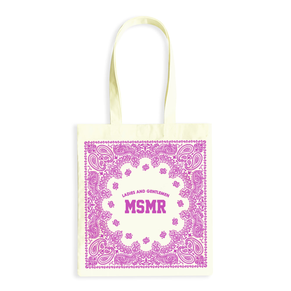 MSMR Paisely Bag Cream