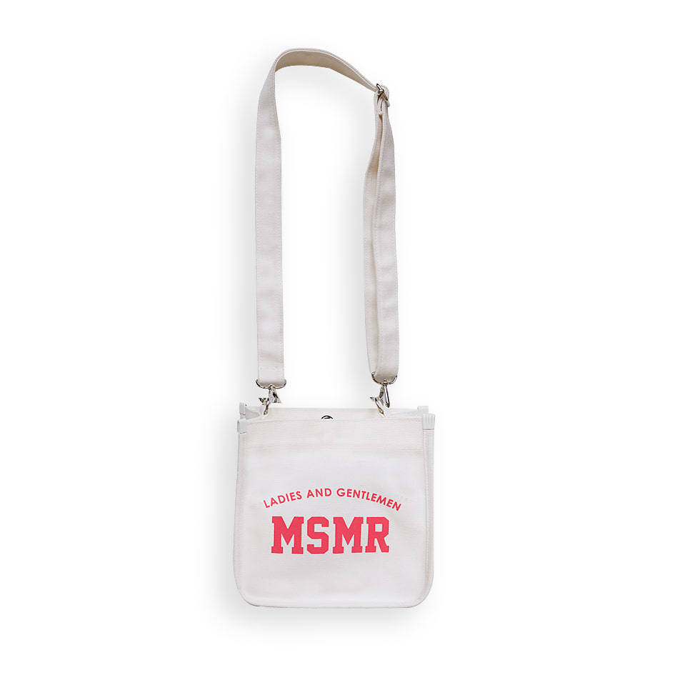 Neon Cross Bag White