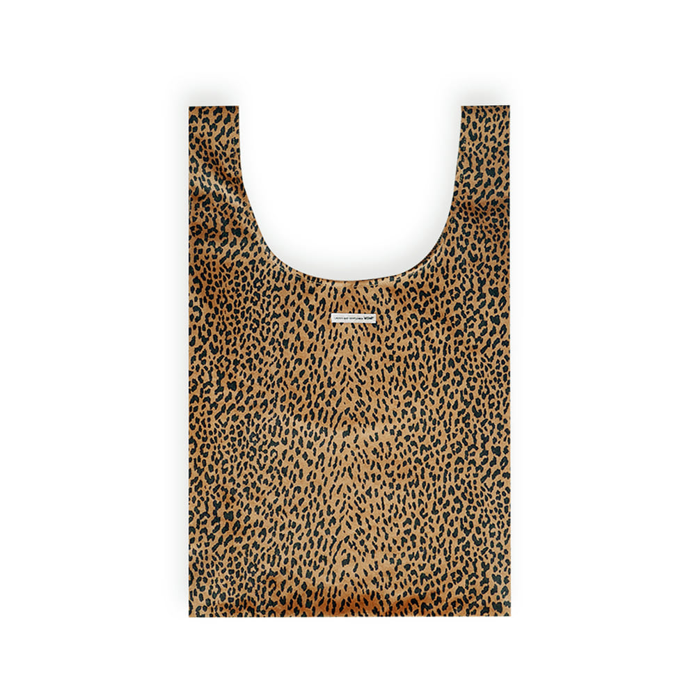 MSMR LEOPARD BAG BROWN