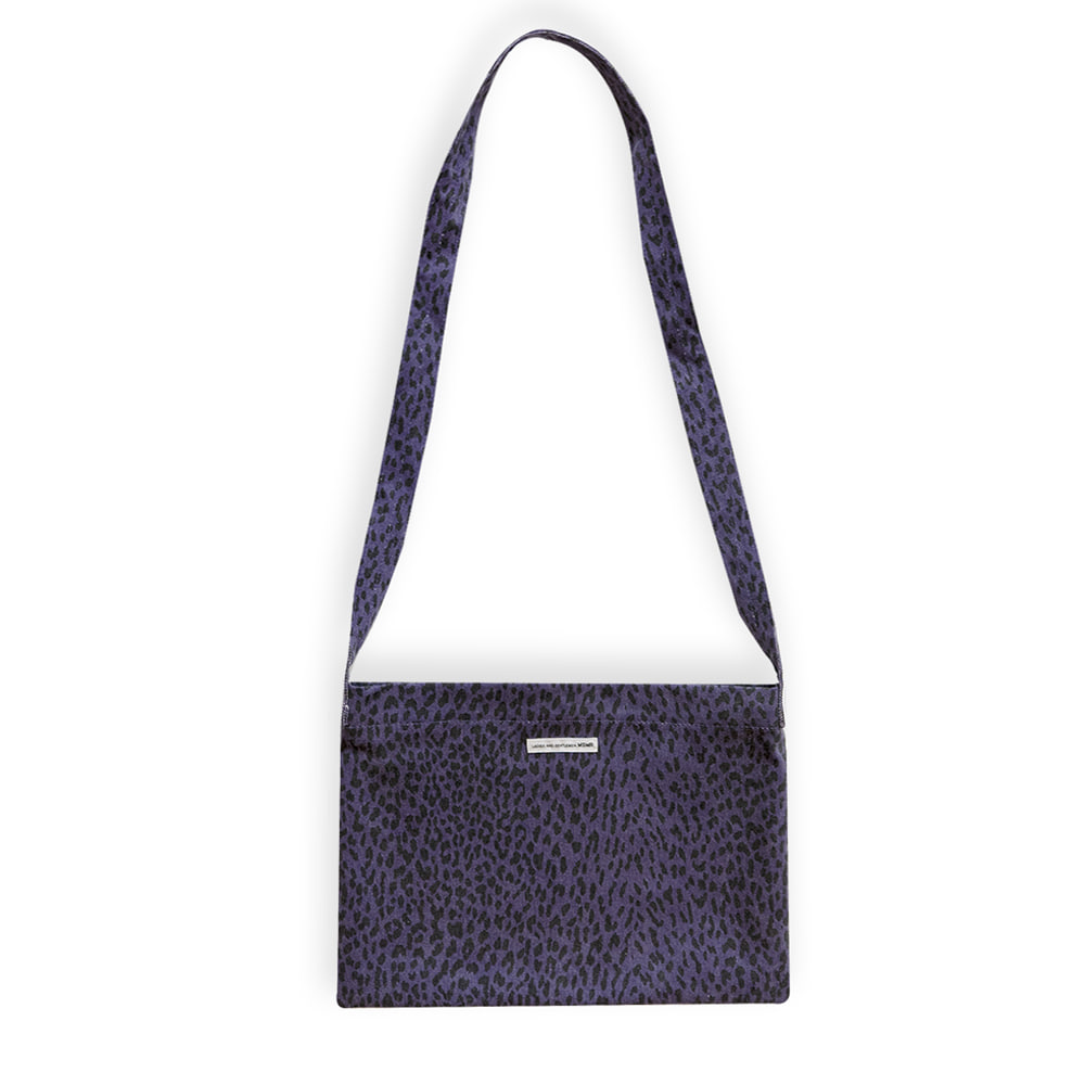 Leopard Cross Bag Purple