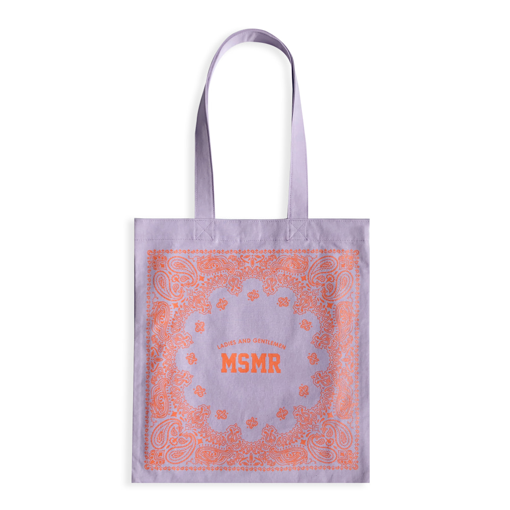 MSMR Paisely Bag Purple