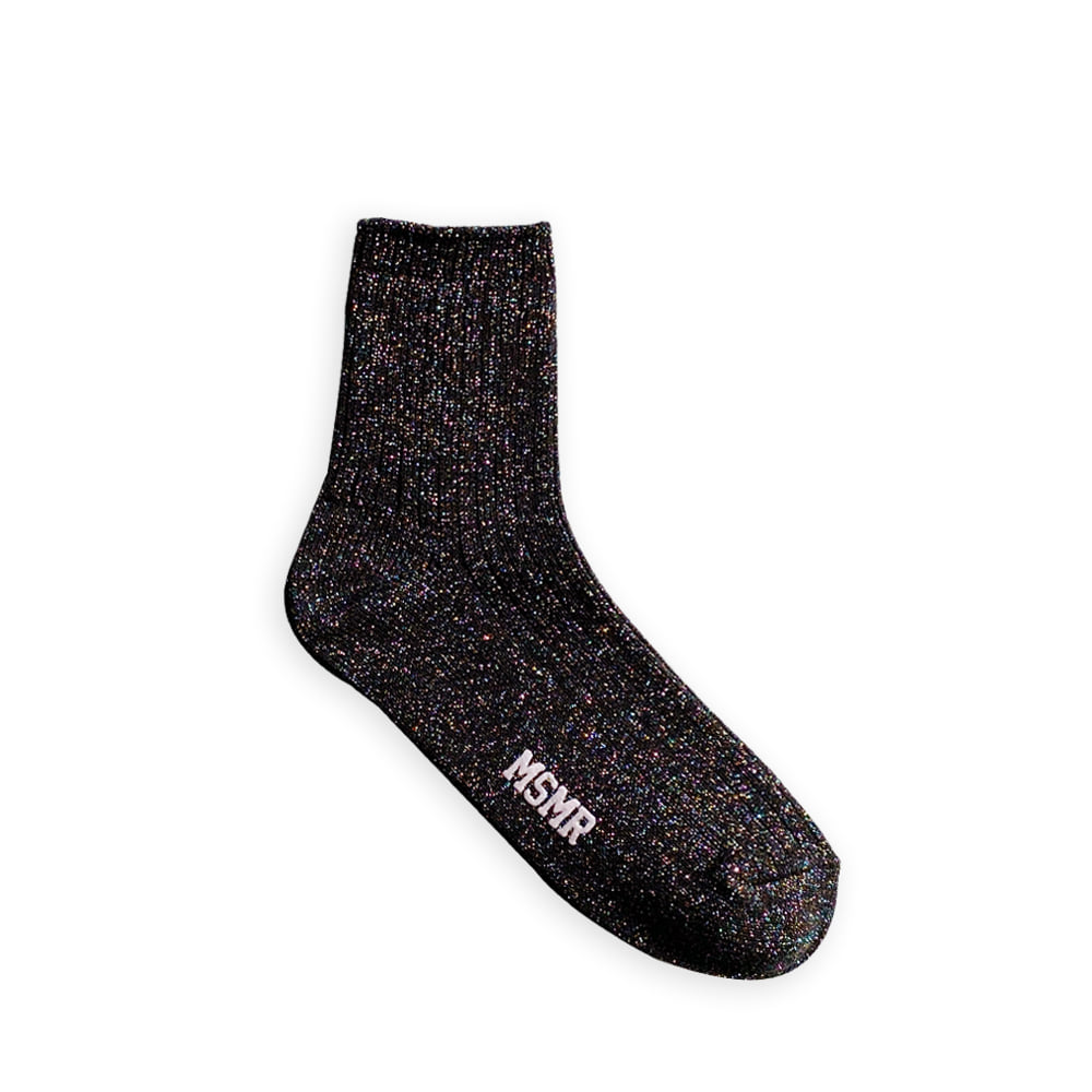 MSMR Twinkle Low Socks black