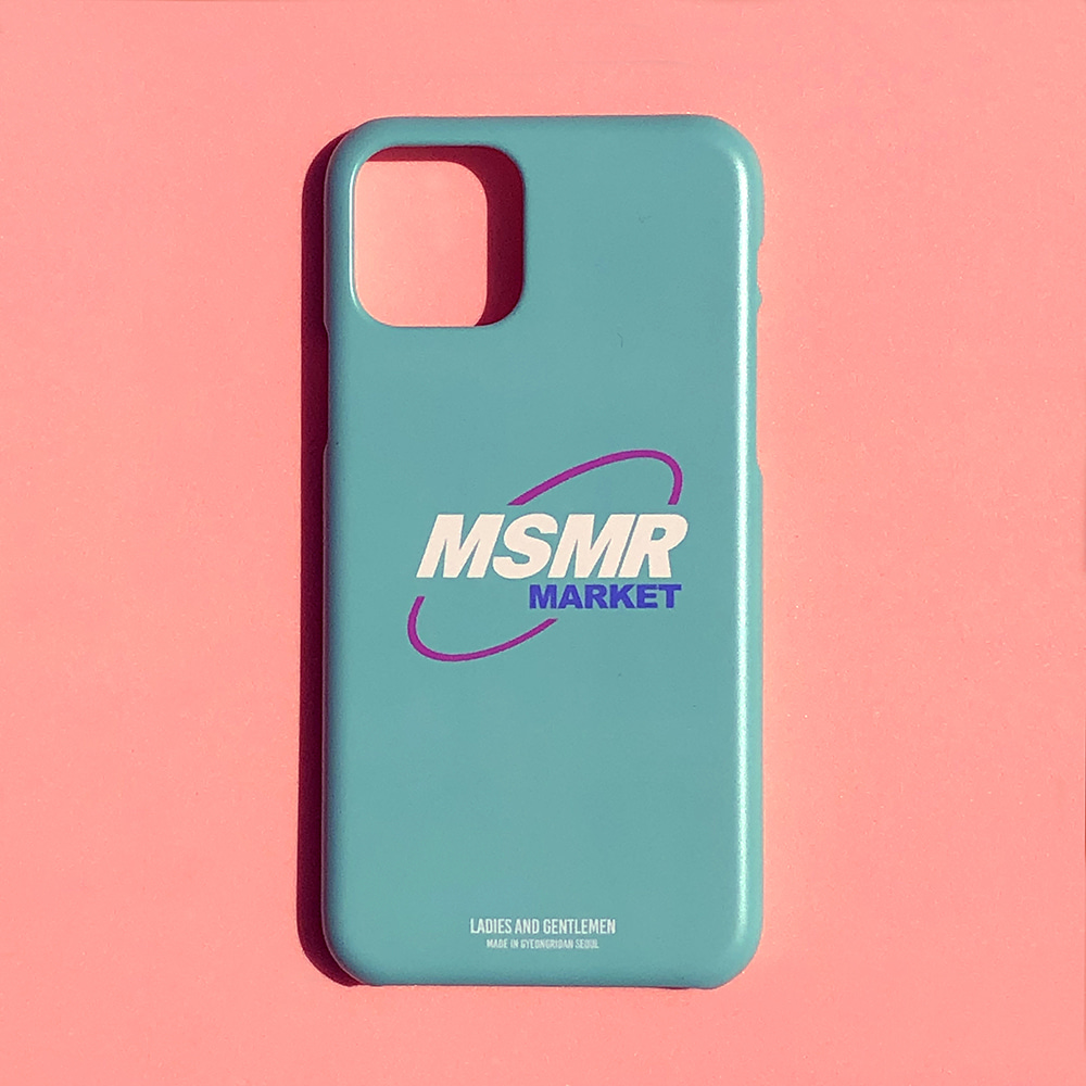 MSMR Market Phone Case Mint  ( I phone 11 , 11Pro)