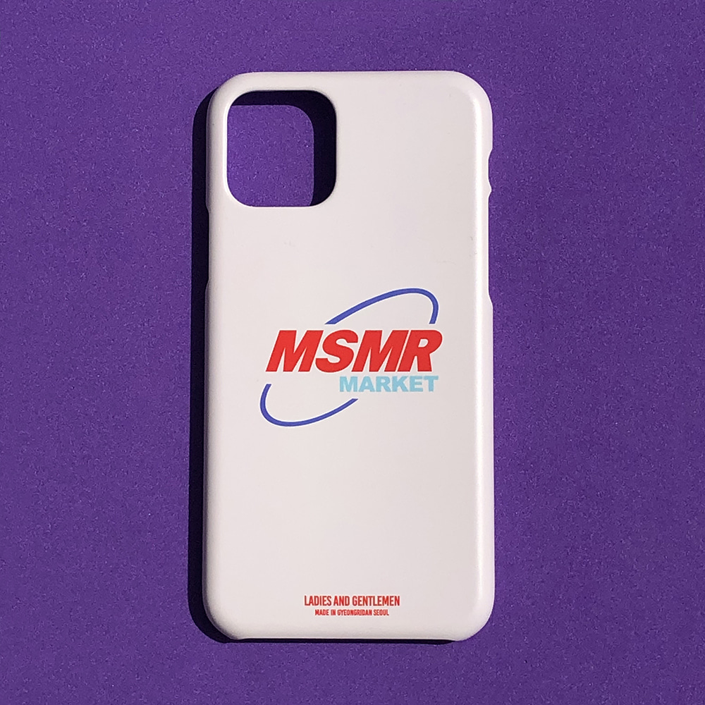 MSMR Market Phone Case Cream ( I phone 11 , 11Pro)