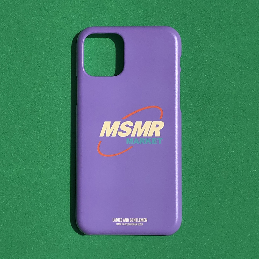 MSMR Market Phone Case Purple  ( I phone 11 , 11Pro)