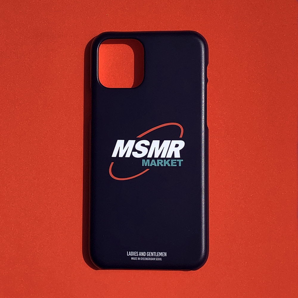 MSMR Market Phone Case Black  ( I phone 11 , 11Pro)