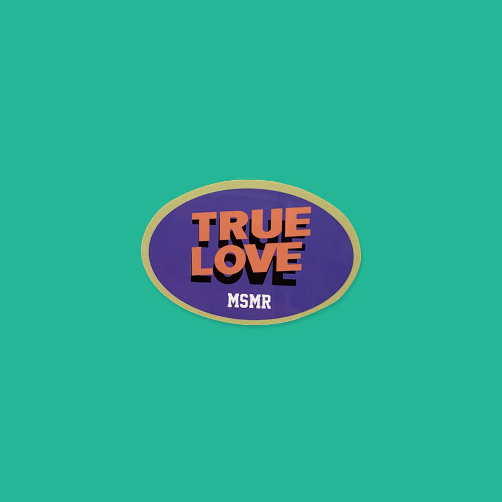 MSMR Sticker True Love