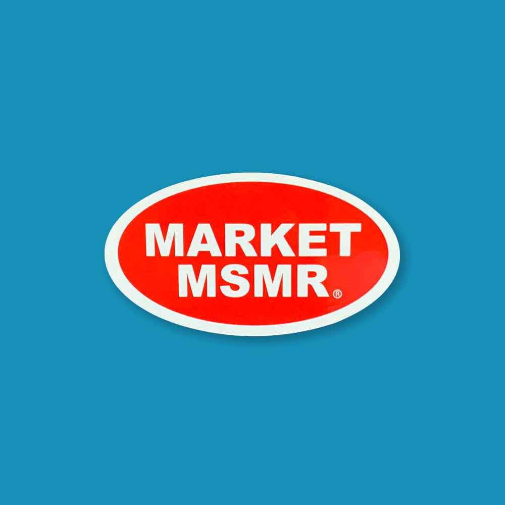 MSMR Market Ellipse Sticker