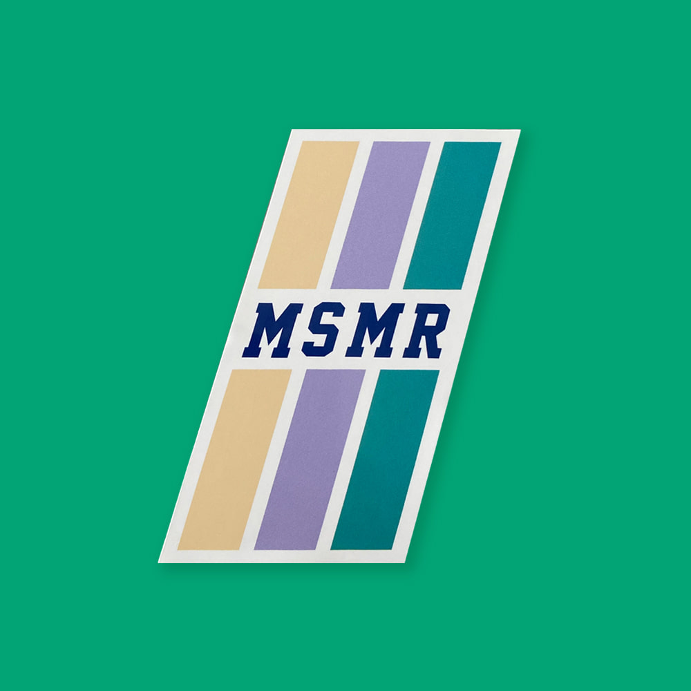 MSMR Triple Line Sticker